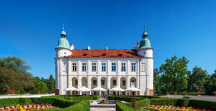 Renaissance castle in Baranow, Poland Royalty Free Stock Photography