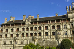 Renaissance castle of Blois in Loir et Cher Stock Photos