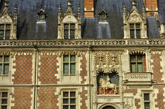 Renaissance castle of Blois in Loir et Cher Royalty Free Stock Image