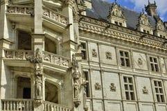 Renaissance castle of Blois in Loir et Cher Stock Images