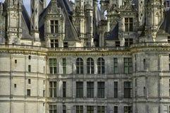 Renaissance castle of Chambord in Loir et Cher Royalty Free Stock Photos