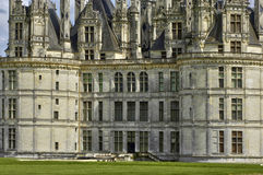Renaissance castle of Chambord in Loir et Cher Stock Photo
