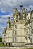 Renaissance castle of Chambord in Loir et Cher Royalty Free Stock Images