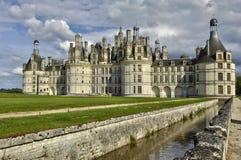 Renaissance castle of Chambord in Loir et Cher Royalty Free Stock Image