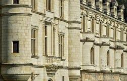 Renaissance castle of Chenonceau in Indre et Loir Stock Image