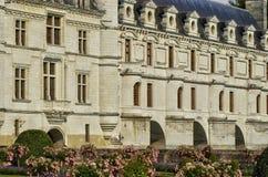 Renaissance castle of Chenonceau in Indre et Loir Royalty Free Stock Photo