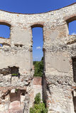 Renaissance castle, defense building, ruins, on a sunny day, Lublin Voivodeship, Janowiec ,Poland Royalty Free Stock Photo
