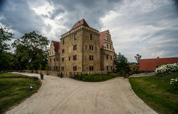 Renaissance castle in Gola Dzierzoniowska Royalty Free Stock Image