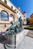 Renaissance castle Konopiste with park near town Benesov nation. Al cultural landmark, Central Bohemia region, Czech republic stock image