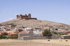 Renaissance castle in La Calahorra, Andalusia, Spain Royalty Free Stock Image