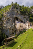 Renaissance Castle in the Rock, Predjama, Slovenia Stock Photography