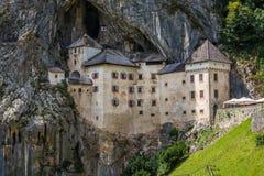 Renaissance Castle in the Rock, Predjama, Slovenia Stock Images