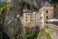 Renaissance Castle in the Rock, Predjama, Slovenia Stock Photo