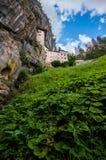 Renaissance Castle in the Rock, Predjama, Slovenia Royalty Free Stock Photography