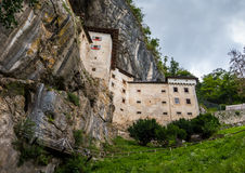 Renaissance Castle in the Rock, Predjama, Slovenia Stock Image