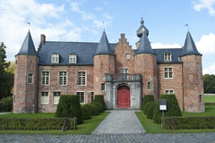 Renaissance castle Rumbeke Royalty Free Stock Photo