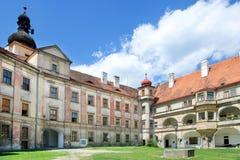 Renaissance castle in town Bela pod Bezdezem, Liberec region, No. Rth Bohemia, Czech republic Royalty Free Stock Photography