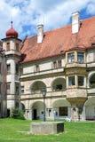 Renaissance castle in town Bela pod Bezdezem, Liberec region, No. Rth Bohemia, Czech republic Stock Images