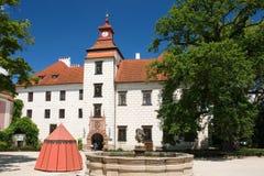 Renaissance castle Trebon Stock Photography