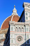 Renaissance Cathedral Church Duomo Santa Maria del Fiore in Florence Royalty Free Stock Images