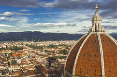 Renaissance Cathedral Santa Maria del Fiore in Florence Royalty Free Stock Photography