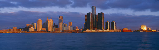 Renaissance Center, Royalty Free Stock Image