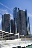 Renaissance Center. In downtown Detroit, Michigan Royalty Free Stock Photos