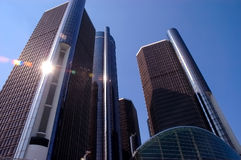 Renaissance center Stock Image