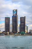 The Renaissance Center Stock Photo