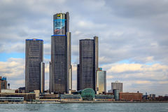 The Renaissance Center Stock Photos