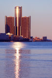 Renaissance Center Detroit Stock Photography