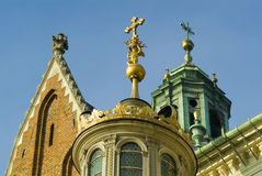 Renaissance chapel tower Royalty Free Stock Images