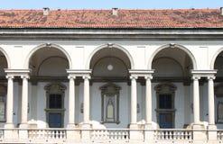Renaissance cloister Royalty Free Stock Image