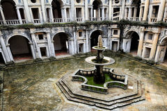 The Renaissance Cloister of John III, Tomar, Portugal Stock Image
