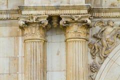 Renaissance columns Royalty Free Stock Photography