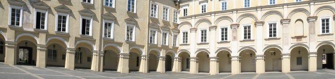 Renaissance courtyard Royalty Free Stock Photo