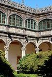 Courtyard - Santiago de Compostela Stock Photos