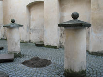 Renaissance courtyard in  Vilnius Stock Photography