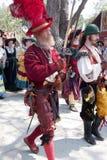 Renaissance Eerlijke parade Stock Afbeeldingen