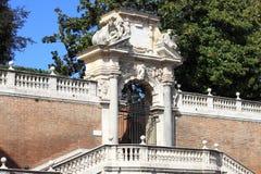 Renaissance entrance portal Stock Images