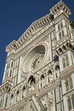 Renaissance facade of the Florence Cathedral Stock Image