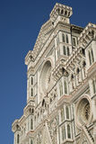 Renaissance facade of the Florence Cathedral Royalty Free Stock Image
