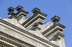 Renaissance facade of palace Schwarzenberg Royalty Free Stock Images