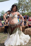 Renaissance Fair belly dancer Royalty Free Stock Photography