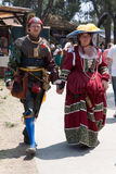 Renaissance Fair couple Stock Photography