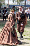 Renaissance Fair couple Royalty Free Stock Photo