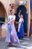 Renaissance Fair flamenco dancers Stock Photography