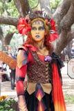 Renaissance Fair Girl. Renaissance Pleasure Faire, Irwindale, CA April 7 – May 20, 2012. Southern California's largest Renaissance Faire features the Queen Royalty Free Stock Photos