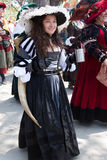 Renaissance Fair maiden Stock Photos