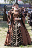 Renaissance Fair maiden Stock Image